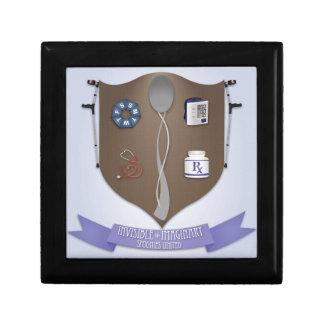 Spoonie Coat of Arms Keepsake Boxes