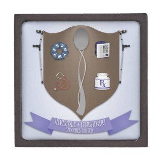 Spoonie Coat of Arms Premium Jewelry Boxes