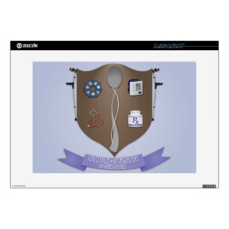 Spoonie Coat of Arms Skins For Laptops