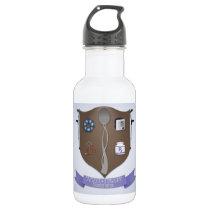 Spoonie Coat of Arms Stainless Steel Water Bottle