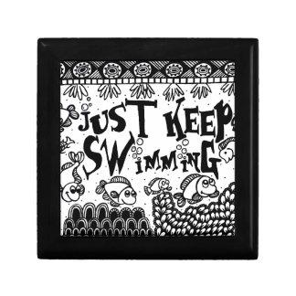 Spoonie-Just Keep Swimming-Chronic Illness Gift Box