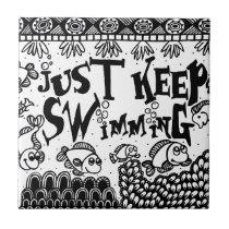 Spoonie-Just Keep Swimming-Chronic Illness Tile