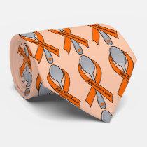Spoonie Life: Cure Multiple Sclerosis! Neck Tie