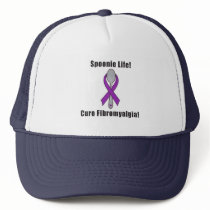 Spoonie Life: Fibromyalgia Awareness Trucker Hat