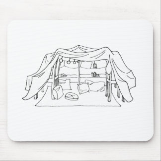Spoonie-Pillow/Blanket Fort-Chronic Illness Mouse Pad