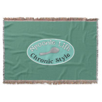 Spoonie Style - Diner Green Throw