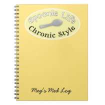 Spoonie Style - Soft Yellow Notebook