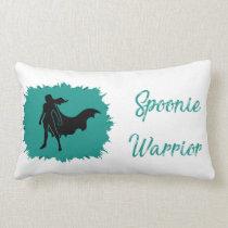 Spoonie Warrior (clear) Lumbar Pillow