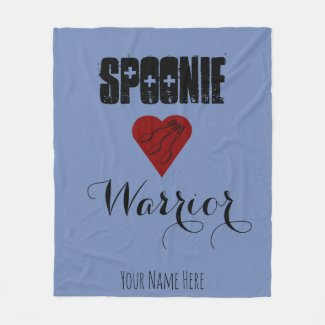 Spoonie Warrior with Heart - Customizable