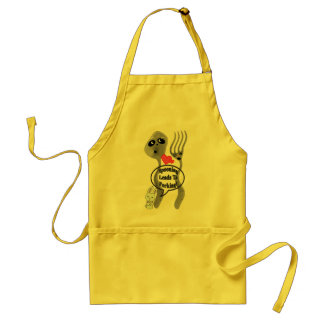 Spooning Leads to Forking Adult Apron