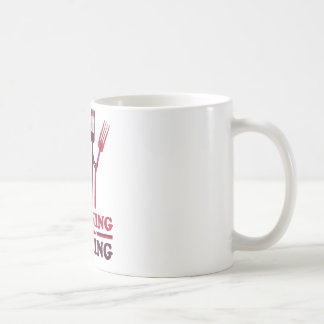 Spooning Leads to Forking Love Romance Classic White Coffee Mug