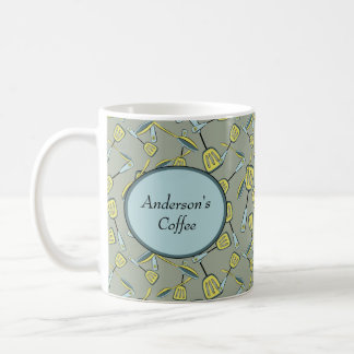 Spoons and Spatulas Personalized Classic White Coffee Mug