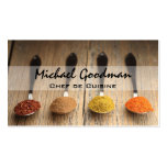 Spoons & Spices Business Card
