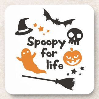 Spoopy For Life Beverage Coaster
