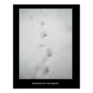 spoors in the snow poster