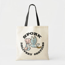 Spork Delivery Tote Bag