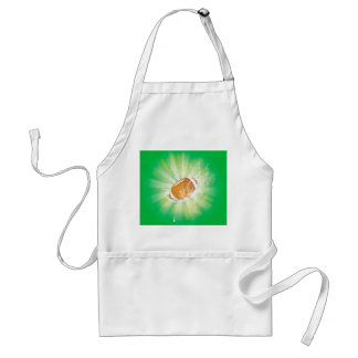 Sport, american football with water splash adult apron