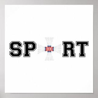 Sport (Badminton) Poster