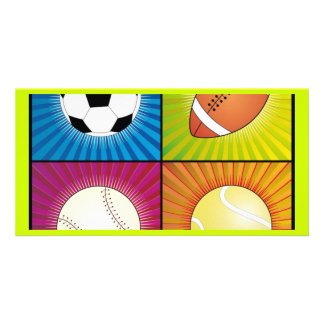 sport-balls photo card