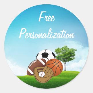 Sport Balls Sticker Pack