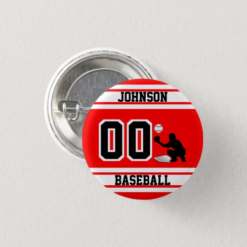 Sport Baseball _ Catcher _ Create Your Own Button
