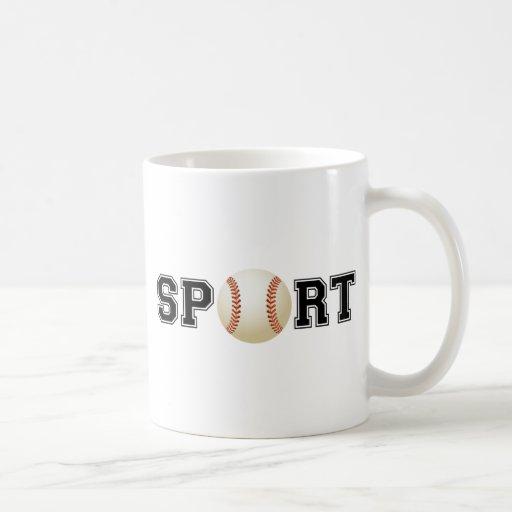 Sport (Baseball) Classic White Coffee Mug