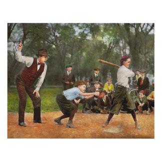 Sport - Baseball - Strike one 1921 Panel Wall Art