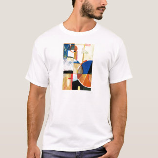 "Sport Basketball Abstract Graphic ""The Hoop Feel"" T-Shirt"