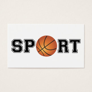 Sport (Basketball) Business Card