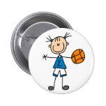 Sport Basketball Button