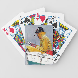 Sport Bicycle Playing Cards