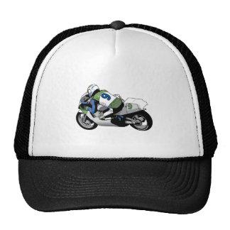 Sport Bike Motorcycle Mesh Hat