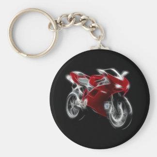 Sport Bike Racing Motorcycle Keychain