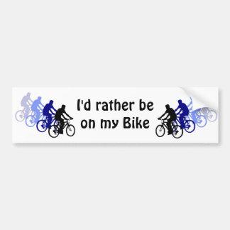 Sport - Biking, Cycling, Bike Car Bumper Sticker