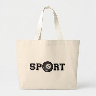 Sport (Billiard) Large Tote Bag