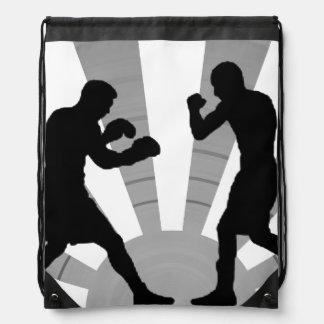 Sport boxing for Drawstring Backpack