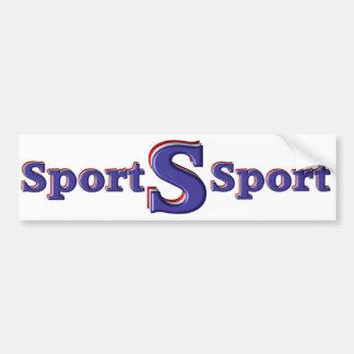 Sport Car Bumper Sticker