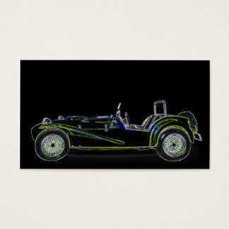 sport car business card