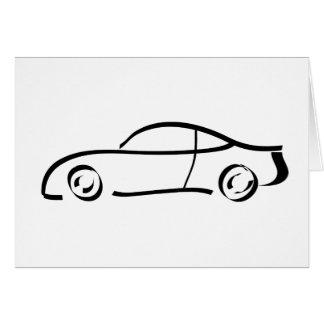 sport car card
