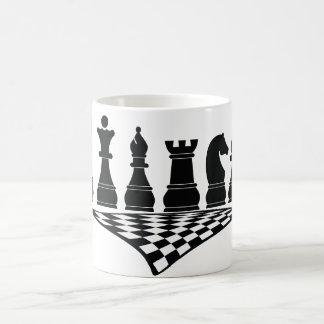 Sport Chess 2, Mug, wit-t-shirt Coffee Mug