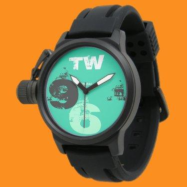 Sport clock Man 96 Green Is Watch