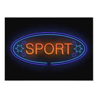 Sport concept. card
