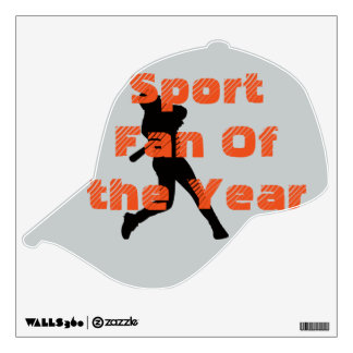 Sport Fan of the Year Decal
