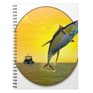Sport Fishing at Dawn Notebook