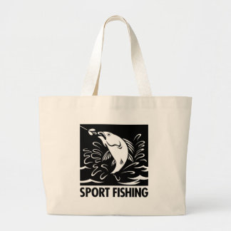Sport Fishing Canvas Bag