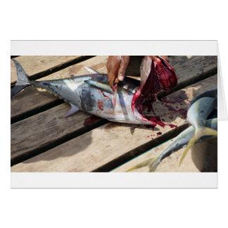 sport fishing card