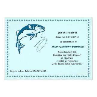 Sport Fishing Invitation