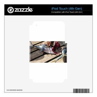 sport fishing iPod touch 4G skin
