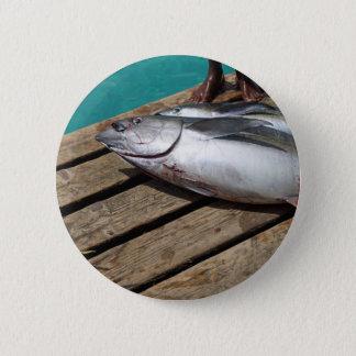 sport fishing pinback button