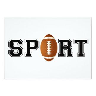Sport (Football) Card